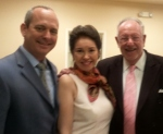 Consuls Warren and Biggs Sparkuhl with Mayor Oscar Goodman of Las Vegas