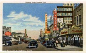 Fremont Street, Las Vegas 1955