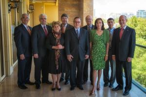Ambassador Noghes and Consuls of Moanco in Las Vegas
