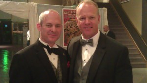 Consul Jonathan Warren and Wyoming Governor Matt Mead at the BBHC Patrons Ball, Cody, Wyoming 2013
