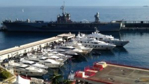 USS Mount Whitney in Monaco