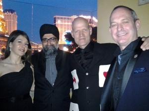 Las Vegas Monaco Private Label members Dr. and Mrs. Grover with Monaco resident Ross McBride and Consul Warren