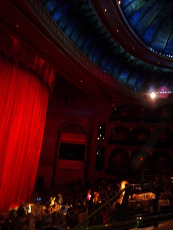 A packed house at the 'O' Theater at Bellagio for One Night for One Drop