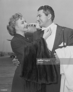 Liberace and Line Renaud 1955